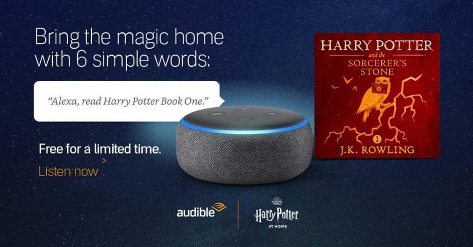 הארי פוטר על גבי אלקסה בחינם