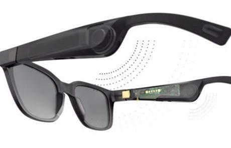 משקפי שמש לעיוורים עם האפליקציה הקולית של מיקרוסופט